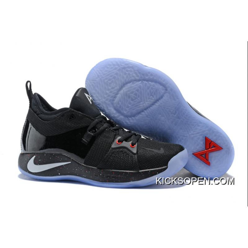 Nike PG 2 Black Metallic Silver-Red Online ... 9a864f393bb4