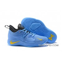 91878c2c7ab Discount Nike PG 2 Light Blue Yellow