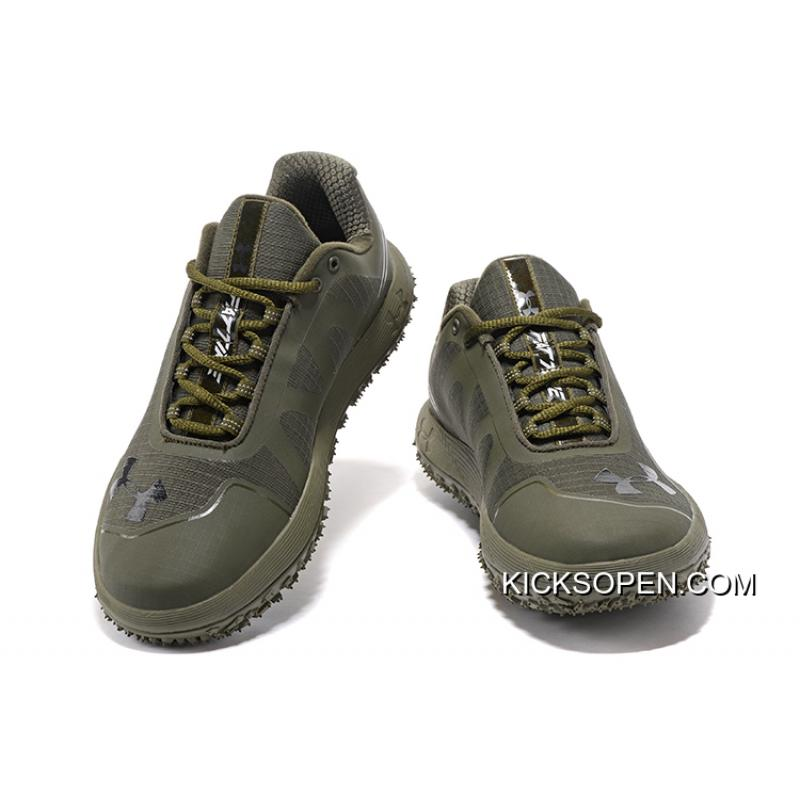 Under Armour Fat Tire Low Army Green