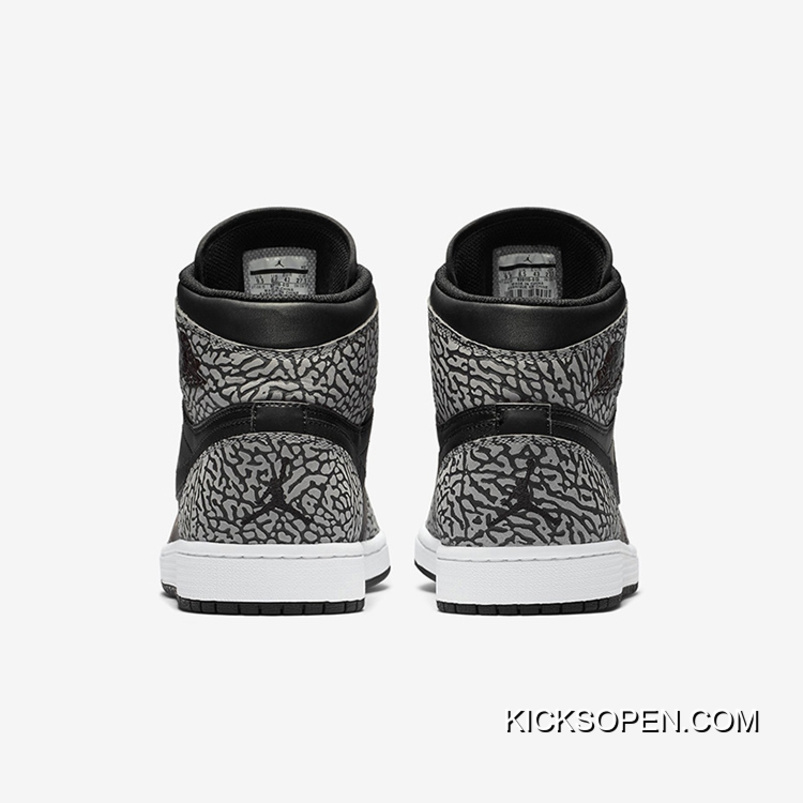 "128a6607d4d Super Deals Air Jordan 1 High ""Un-Supreme"" Black/Cement-White ..."