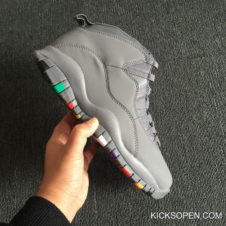 "94346a56cf7d7c Air Jordan 10 ""Cool Grey"" Top Deals"