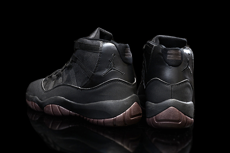 purchase cheap 88bd3 687b5 ... discount new air jordan 11 matte custom all black
