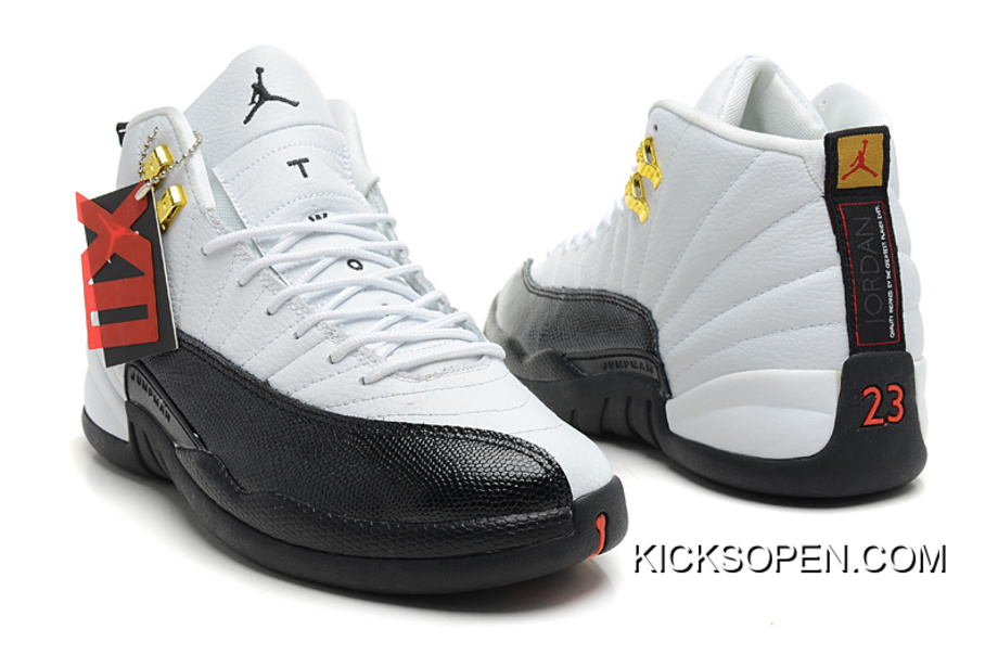 "5a76bd4073b9b0 Super Deals New Air Jordan 12 Retro ""Taxi"" White Black-Taxi"