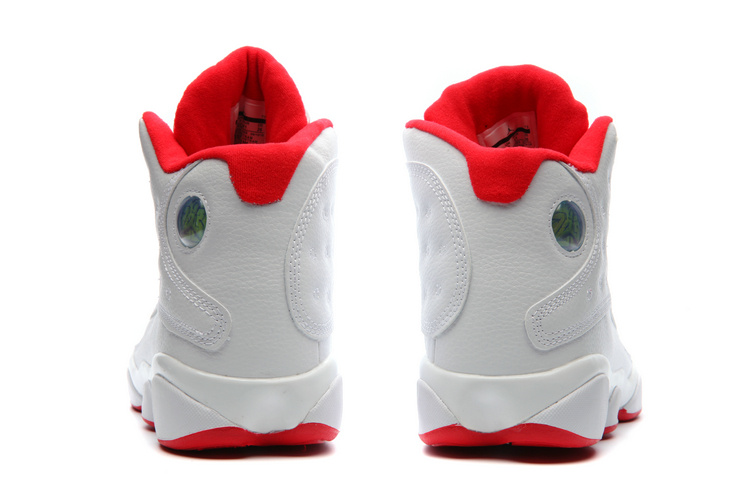"hot sale online a5ec6 8dc17 New Year Deals Air Jordan 13 ""History Of Flight"" White/University  Red-Metallic Silver"