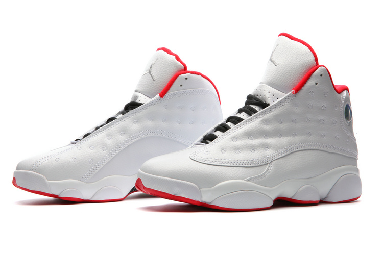 """official photos 6f9d2 018fa New Year Deals Air Jordan 13 """"History Of Flight"""" White University Red-"""