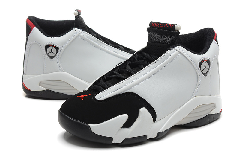 online store c5923 929d0 ... cheap air jordan 14 black toe white black varsity red metallic silver  ca101 290ef