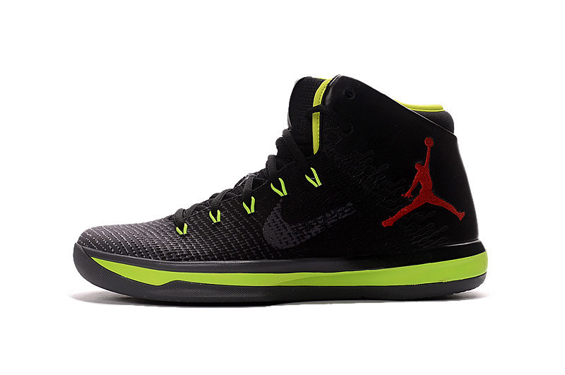f0ef5459719 Super Deals Air Jordan XXX1 Black Green Red Basketball Shoes
