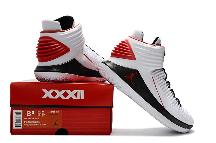 378e33e09b6 Best Air Jordan 32 White/Black-Varsity Red, Price: $93.77 - Sneakers ...
