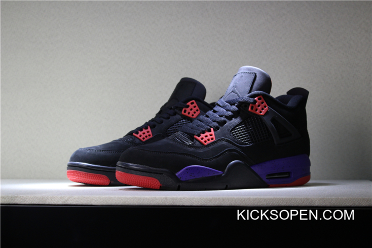 24e5b08f06c ... best price air jordan 4 nrg raptors black university red court purple  aq3816 d3040 ec42d