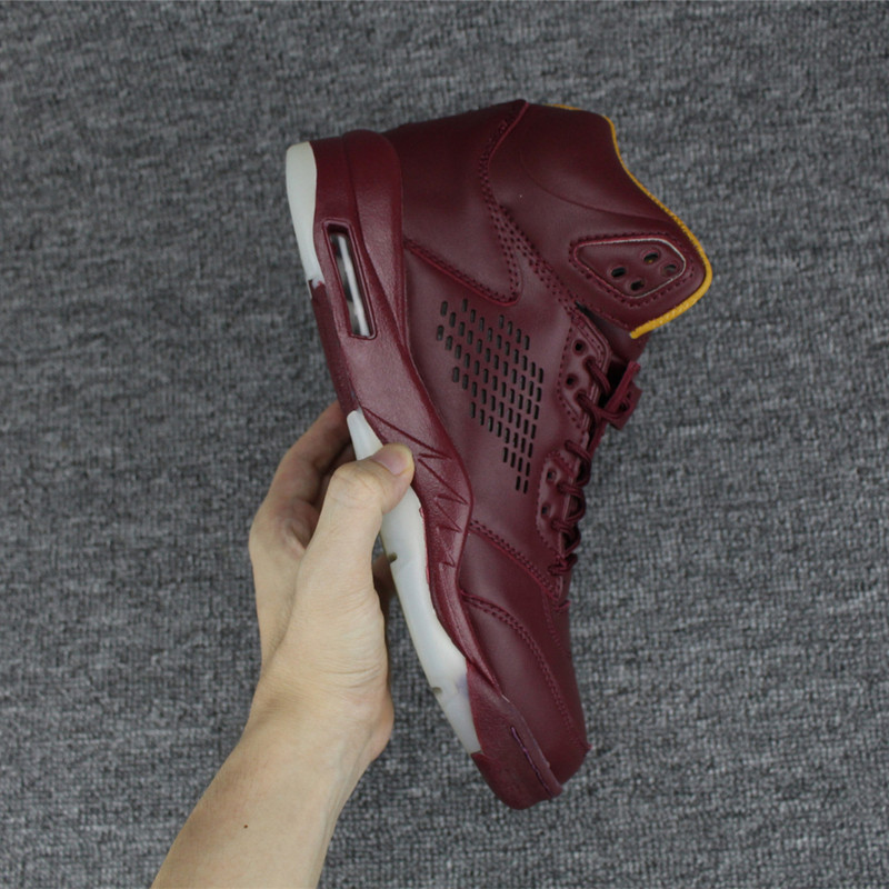"super popular 8ced5 1d390 ... Top Deals Air Jordan 5 Premium ""Wine"" Bordeaux ..."