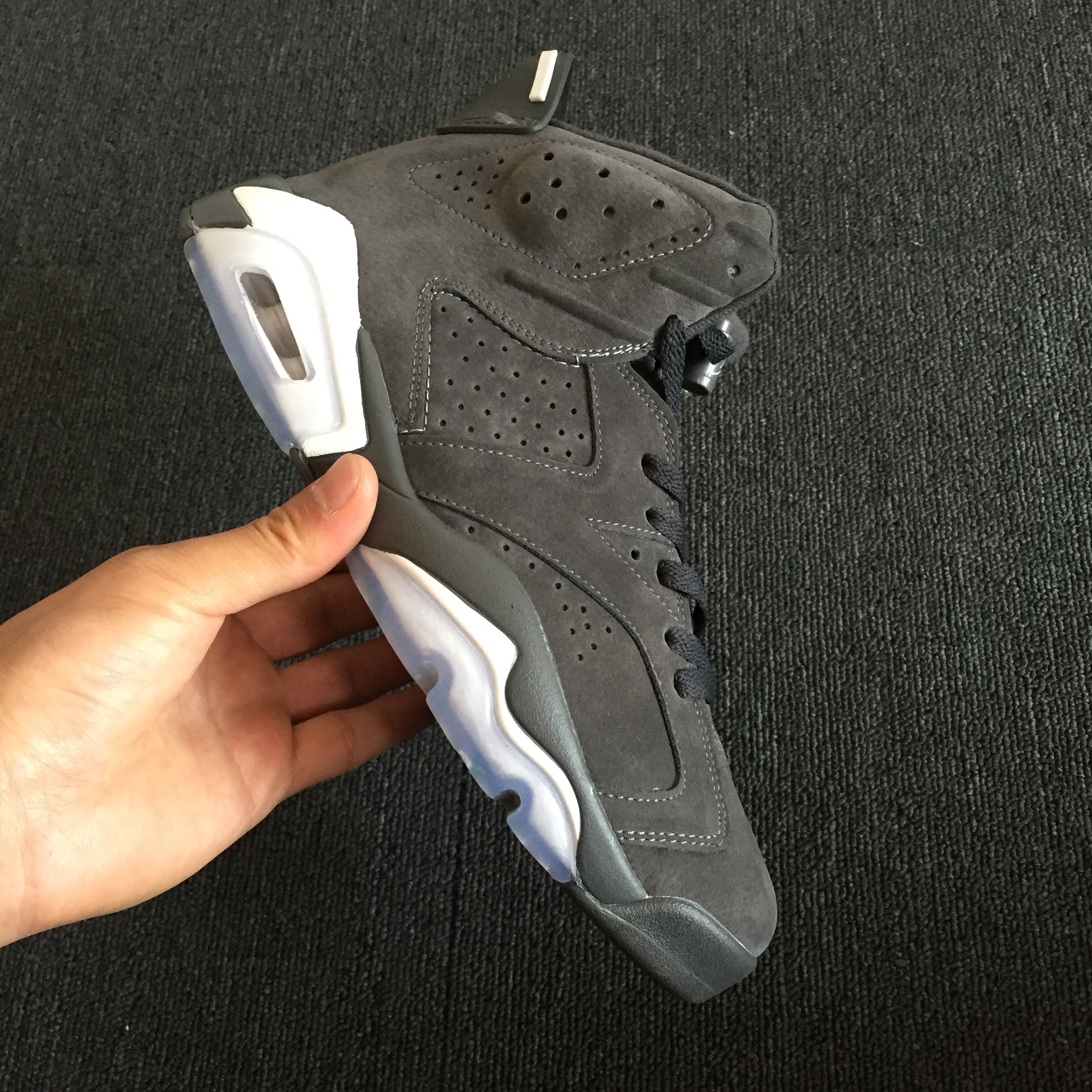 322fb04c517 Air Jordan 6 Cool Grey Suede Outlet, Price: $87.14 - Sneakers, Shoes ...