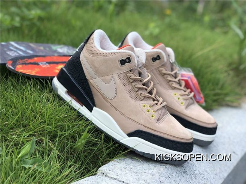 c575a6a6e02 Men Air Jordan 3 JTH Bio Beige Best