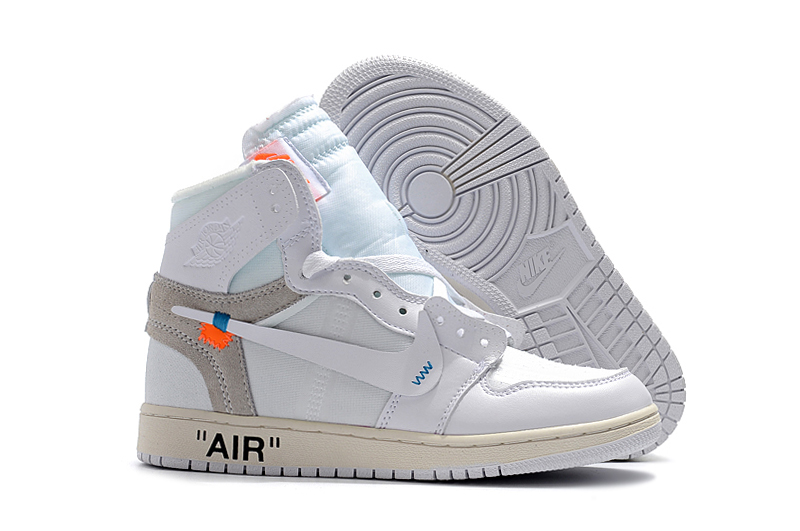 "5285c8af116 Off-White X Air Jordan 1 ""White"" AQ0818-100 For Sale, Price: $100.93 ..."