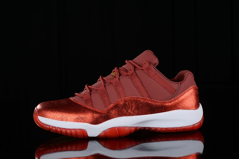 "6c81a24a1339 Air Jordan 11 Low ""Red Velvet"" New Release"