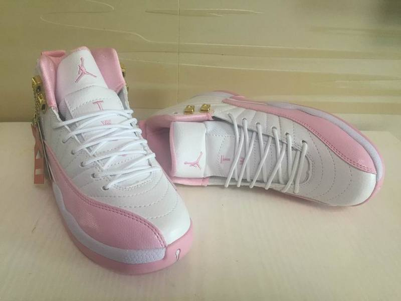 2c344ff3c76ef Air Jordan 12 GS White Pink Shoes Outlet, Price: $80.79 - Sneakers ...