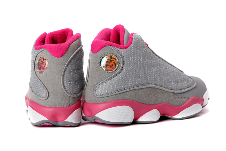 watch 66416 2a1ab sale online new air jordan 13 gs gray pink white aeb5a 60ce4