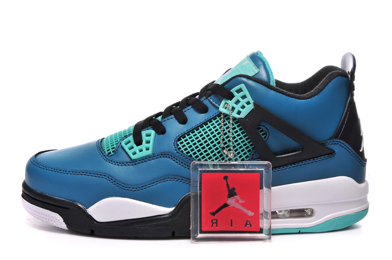 """new style 4a897 aafb9 For Sale New Air Jordan 4 Retro """"Teaser"""" Teal/Black-White, Price ..."""