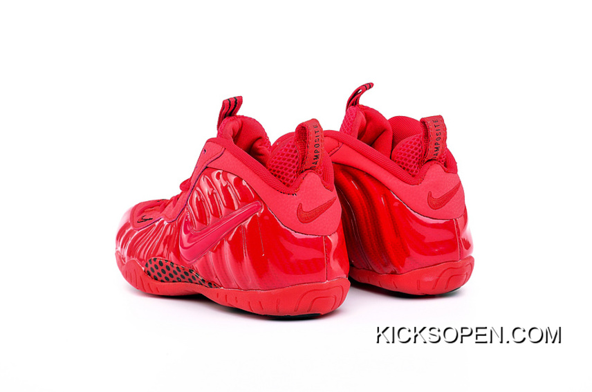 """3e3f1e7246f99 Girls Nike Air Foamposite Pro GS """"Gym Red"""" New Year Deals"""