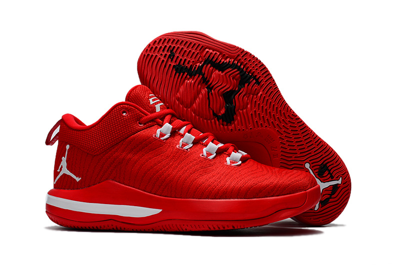 Best Jordan CP3.X AE Red White 68d12f2e3