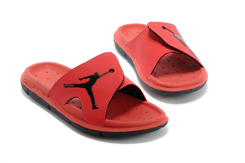 94861de993713 Air Jordan Hydro Slide Sandals Red Black Copuon