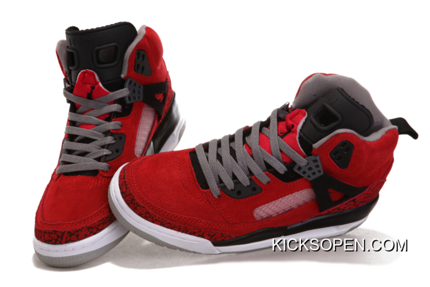 "de95699cc644 New Release New Jordan Spizike ""Gym Red"""