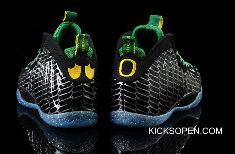 "6c537d7b13d66 Nike Air Foamposite One ""Oregon Ducks"" Black Apple Green-Yellow Strike  Outlet"