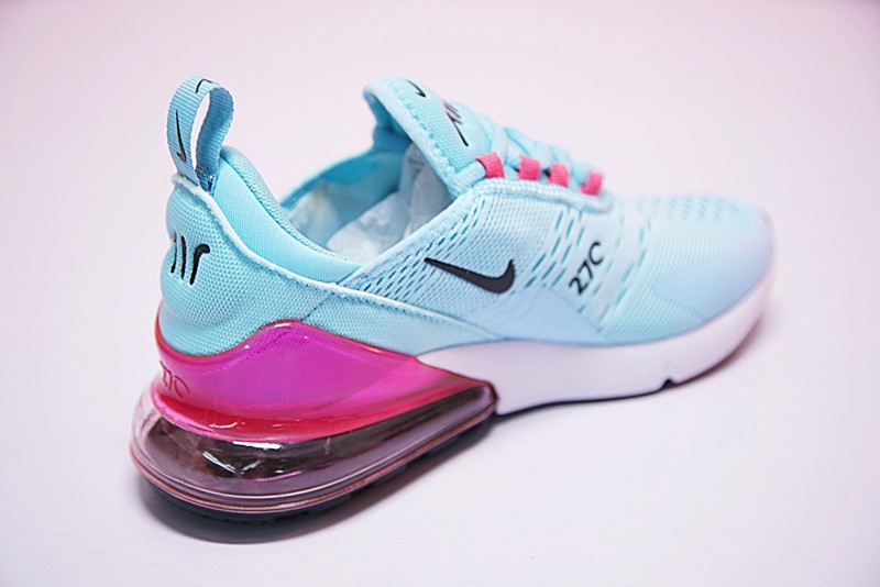 3baf99eff9 Outlet WMNS Nike Air Max 270 Blue Pink Grade School, Price: $87.28 ...