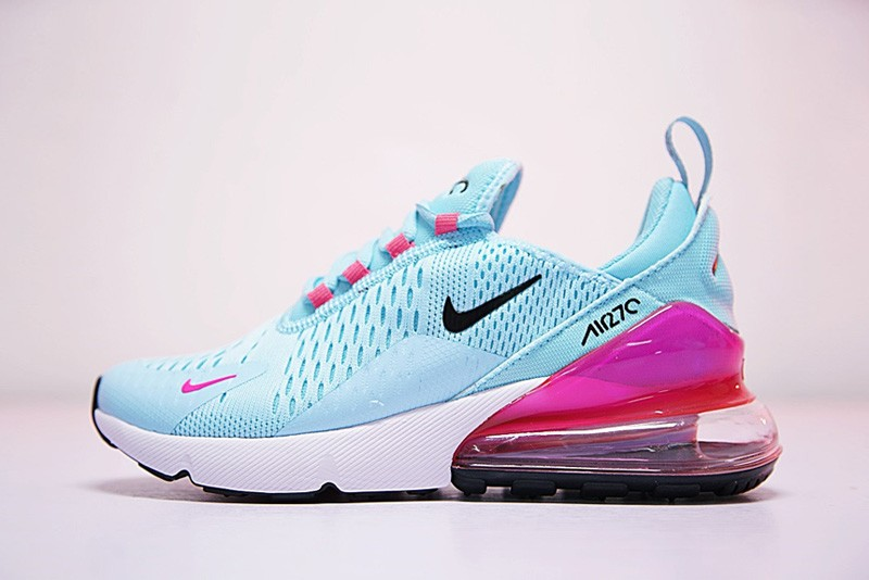 the best attitude 7a015 3662f Outlet WMNS Nike Air Max 270 Blue Pink Grade School