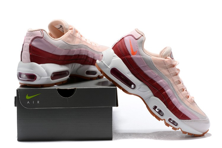 Top Deals WMNS Nike Air Max 95 Barely RoseHot Punch Vintage