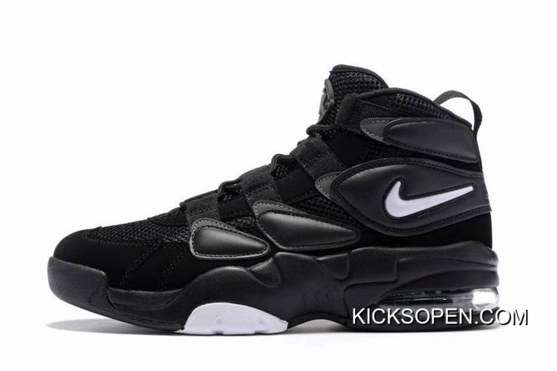 New Release Nike Air Max Uptempo 2 Black White-Dark Shadow a7c48e0b3