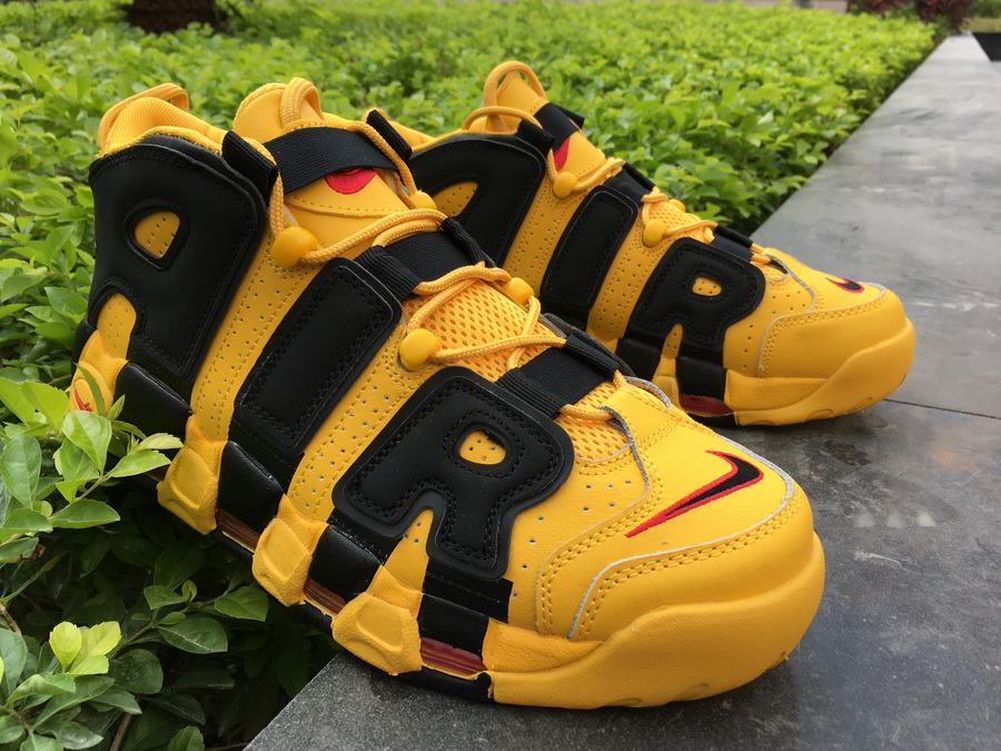 "Bruce Lee Nike Air More Uptempo ""Kill Bill"" BlackYellow For Sale"