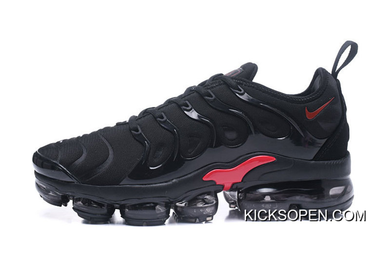 2fbd13a97091 Nike Air VaporMax Plus Black Red Outlet