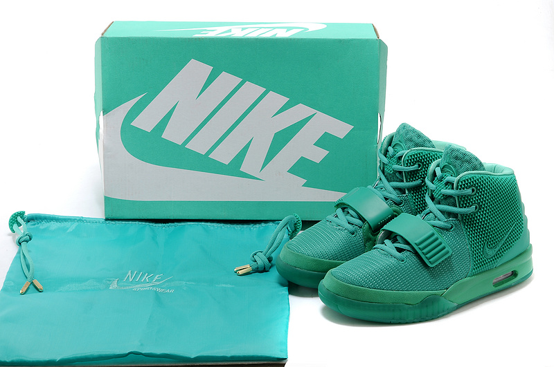 "new product 6cb0c 0a361 New Style Nike Air Yeezy 2 ""Green Lantern"" Glow In The Dark"