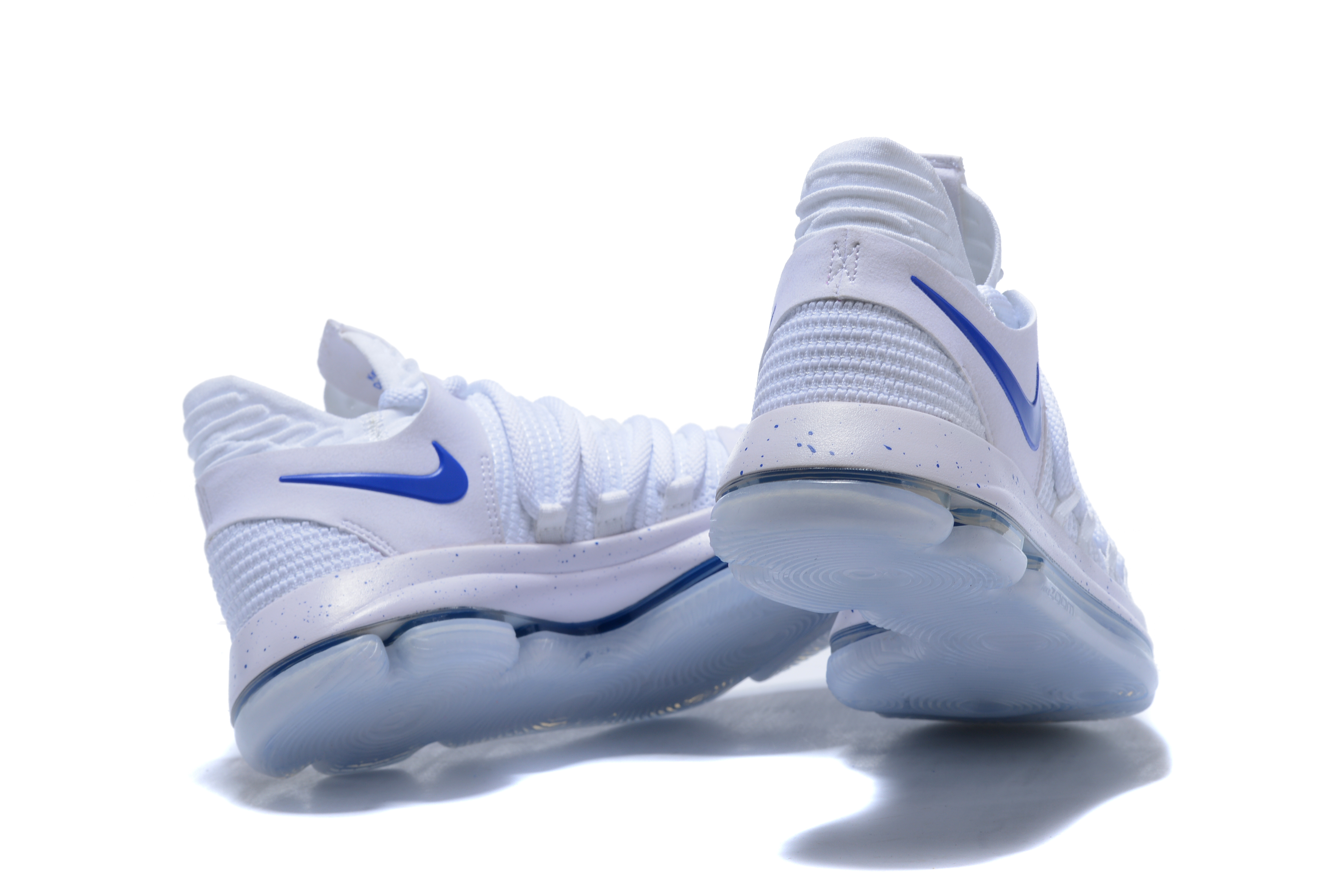 new product b0f49 232f2 New Style Nike KD 10 White Blue
