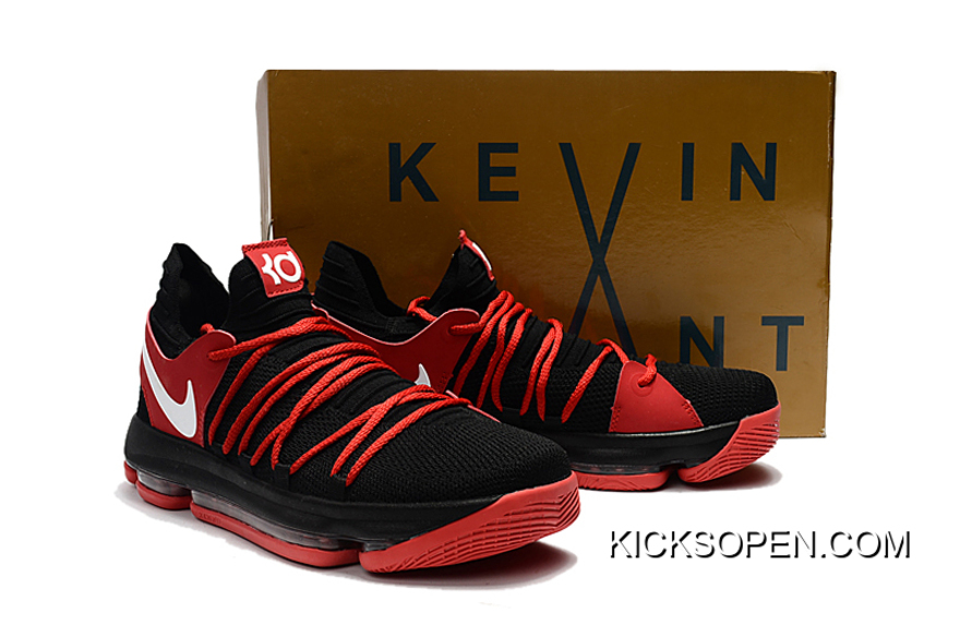 finest selection d1130 f2851 ... coupon code latest nike kd 10 black red white 4a656 3569b