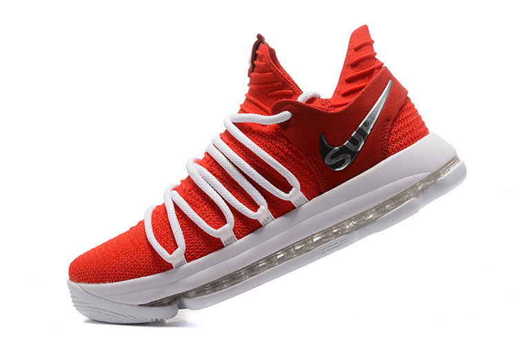the latest be33b 54b8b Nike KD 10 EP University Red White For Sale