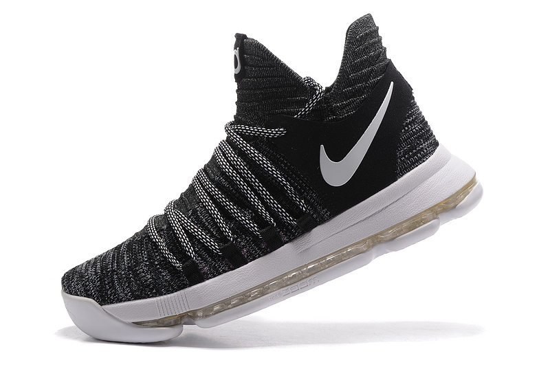 """finest selection 3bb67 5a494 New Style Nike KD 10 """"Oreo"""" Black White"""