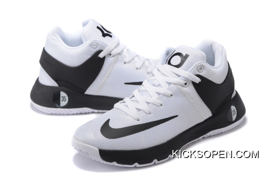 "separation shoes 01359 1616a Best Nike KD Trey 5 IV ""Team"" White Black"