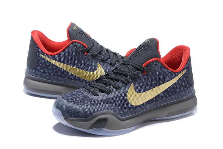 "pick up 78e11 0e1d8 Kobe 10 Safari Print ""Charcoal Gold Red"" New Year Deals"