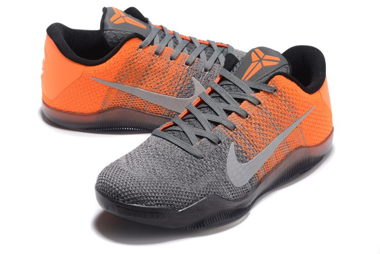 "sports shoes b4300 9c122 Latest Nike Kobe 11 Elite Low ""Easter"" Grey Orange"