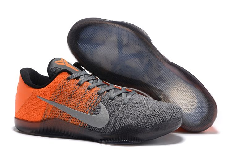 "sports shoes 9b6fa b4ad6 Latest Nike Kobe 11 Elite Low ""Easter"" Grey Orange"