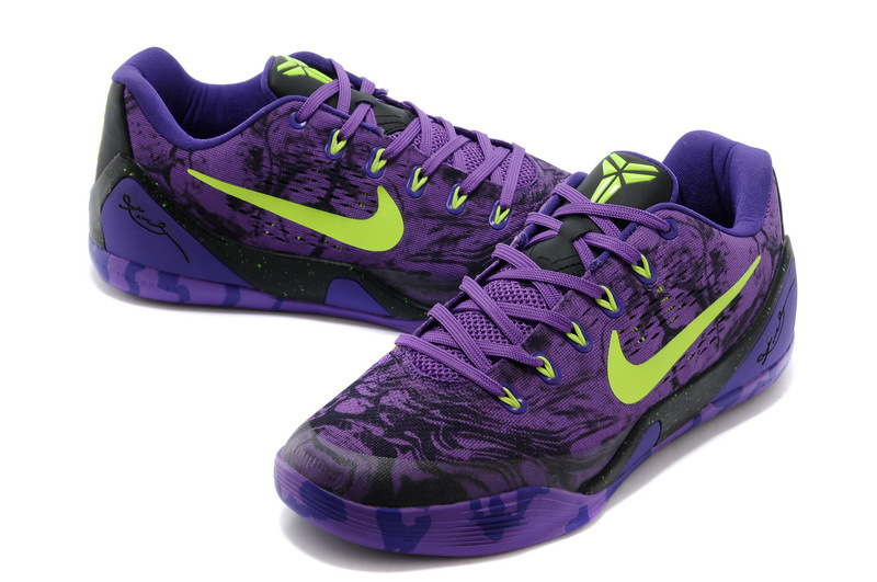 best website a997c f869a Nike Kobe 9 Low EM XDR Purple Volt Online