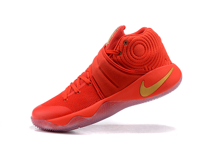 """best cheap ed7f0 782c2 Nike Kyrie 2 """"Gold Medal"""" University Red Metallic Gold Outlet"""