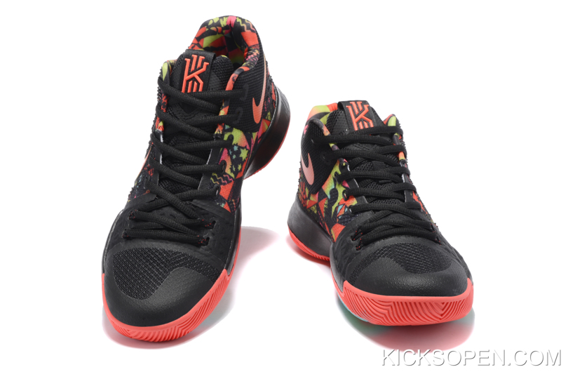"4d1de3b4172c New Year Deals Nike Kyrie 3 ""Dream"" Black-Red Multi-Color"