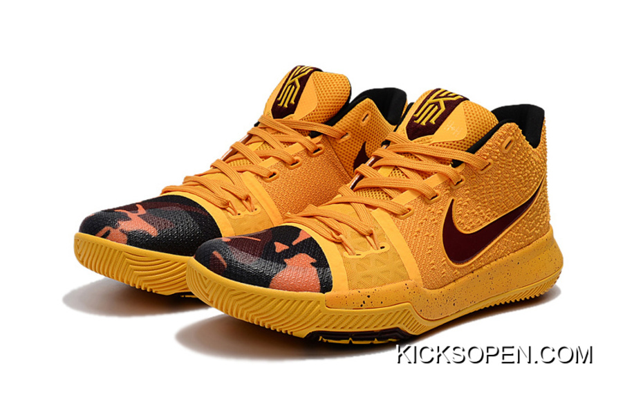"innovative design 2f071 21815 Copuon Nike Kyrie 3 ""Camo"" PE"