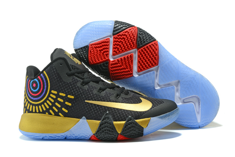 """Nike Kyrie 4 """"Black Gold"""" New Release"""