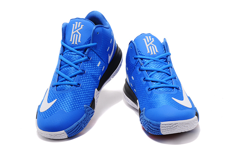 low priced 245a4 5ad98 Copuon Nike Kyrie 4 Royal Blue White