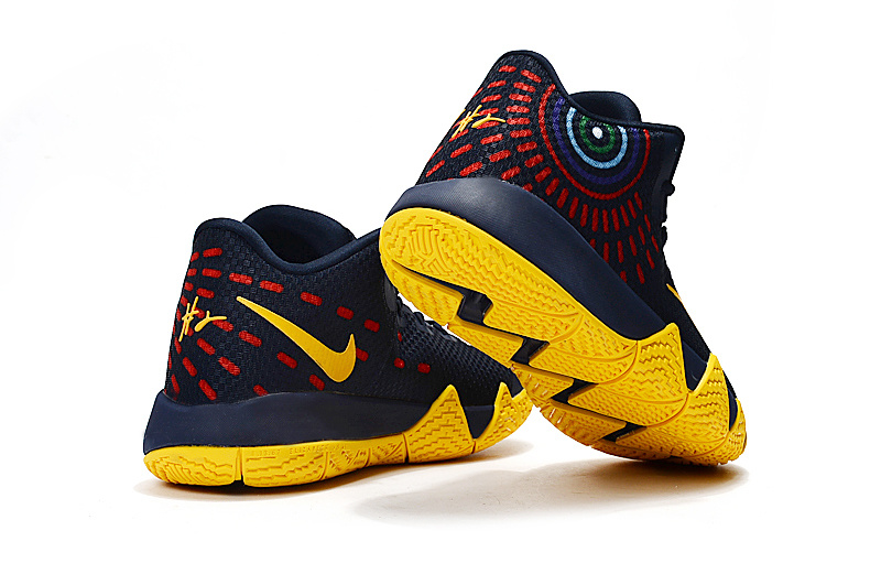 huge selection of d202c 7481a ... ebay discount nike kyrie 4 deep blue yellow 0eac0 78647