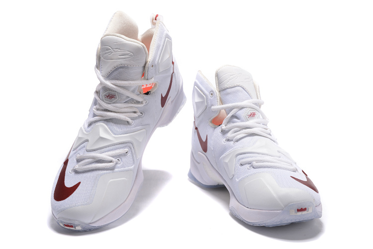 51618708d27 For Sale Nike LeBron 13 White Wine PE Shoes