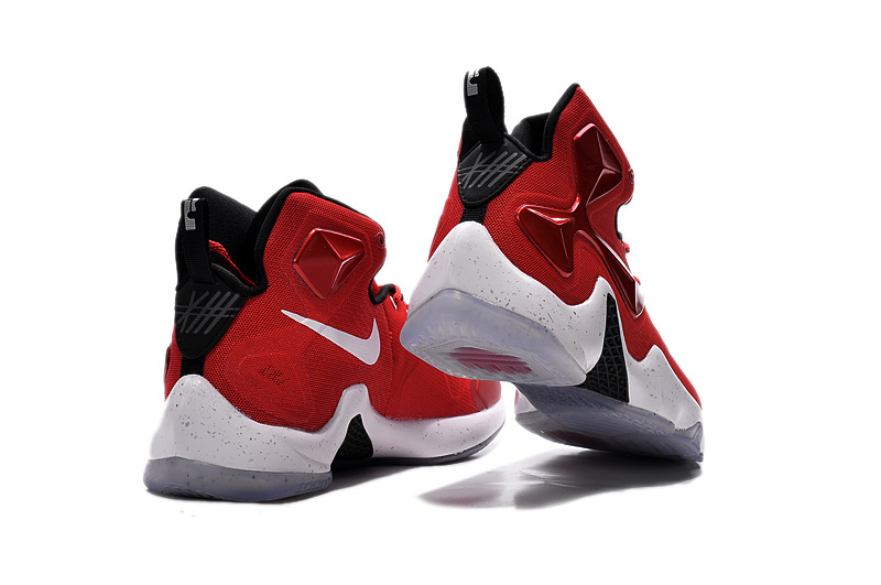 3d4e0e7a4008 ... spain nike lebron 13 gym red black white men basketball shoes copuon  f989e 1ba00
